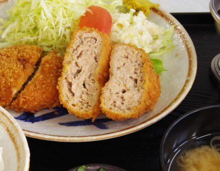 メンチカツ定食 ¥900