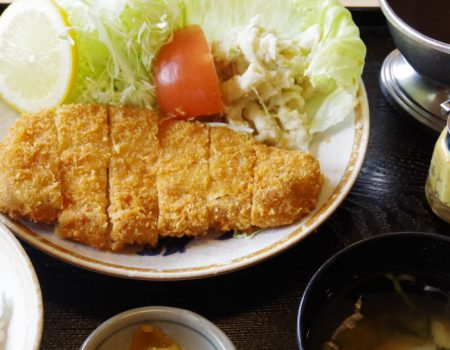 とんかつ定食 ¥1400