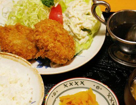 コロッケ定食 ¥800