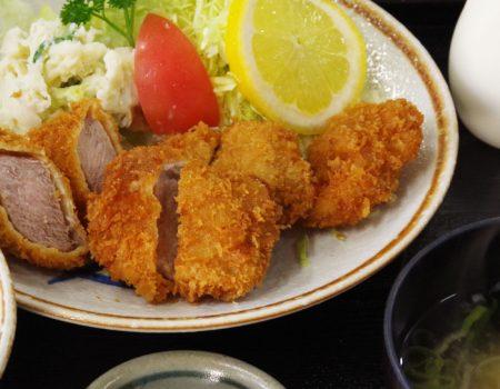 ヒレカツ定食 ¥1600