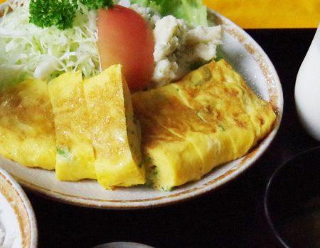卵焼き定食 ¥800