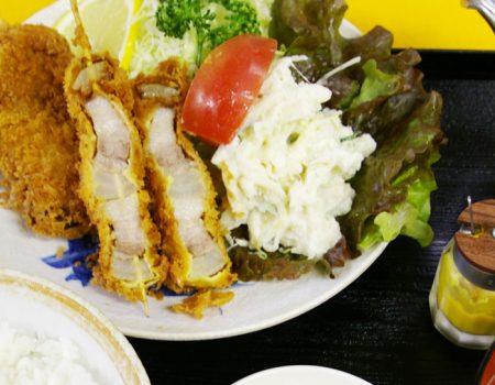 串カツ定食 ¥1000
